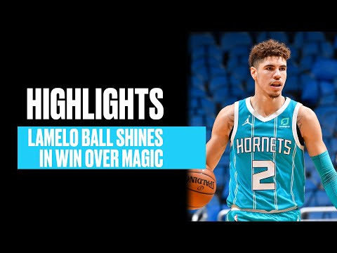 LaMelo Ball Shows Off A Bit Of Everything In Win Over Magic