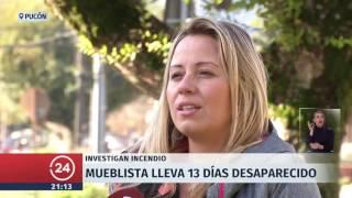 Empresario lleva 13 días desaparecido en Pucón