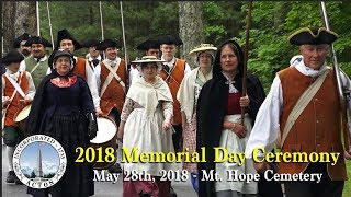 2018 Memorial Day Ceremony