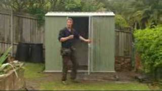 Absco Garden Sheds - Easy to assemble from www.hardware2u.com.au