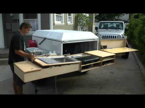 Xventure off road camping and utility trailer doovi
