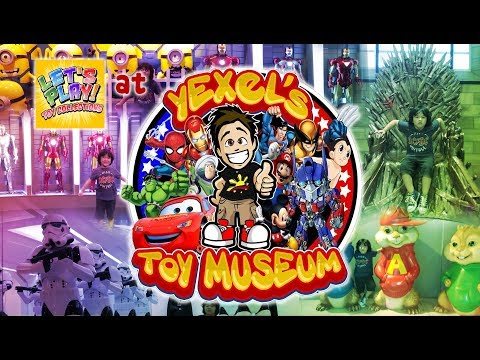 Let's Play! @ YEXEL's TOY MUSEUM at the Manila Ocean Park