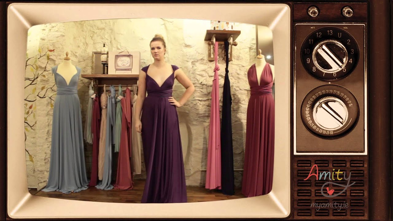 Convertible dress wear it your way youtube wear it your way youtube ombrellifo Image collections