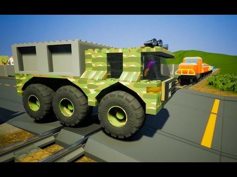 AWESOME LEGO CAR CRASHES!!!  Brick Rigs Lego Open World Gameplay thumbnail