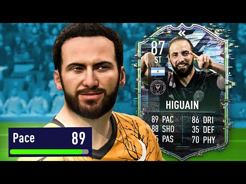 HIGUAIN IS ACTUALLY FAST