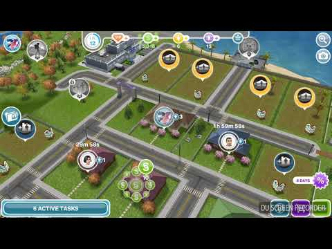How to do Have Two Sims Sit At The Dinner Table on The Sims Free Play