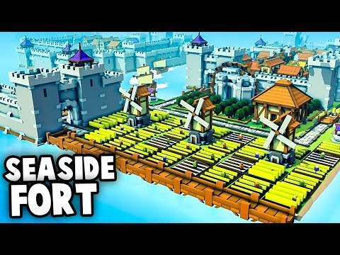 OCEAN FORTRESS - Expanding the Empire! (Kingdoms and Castles Gameplay)