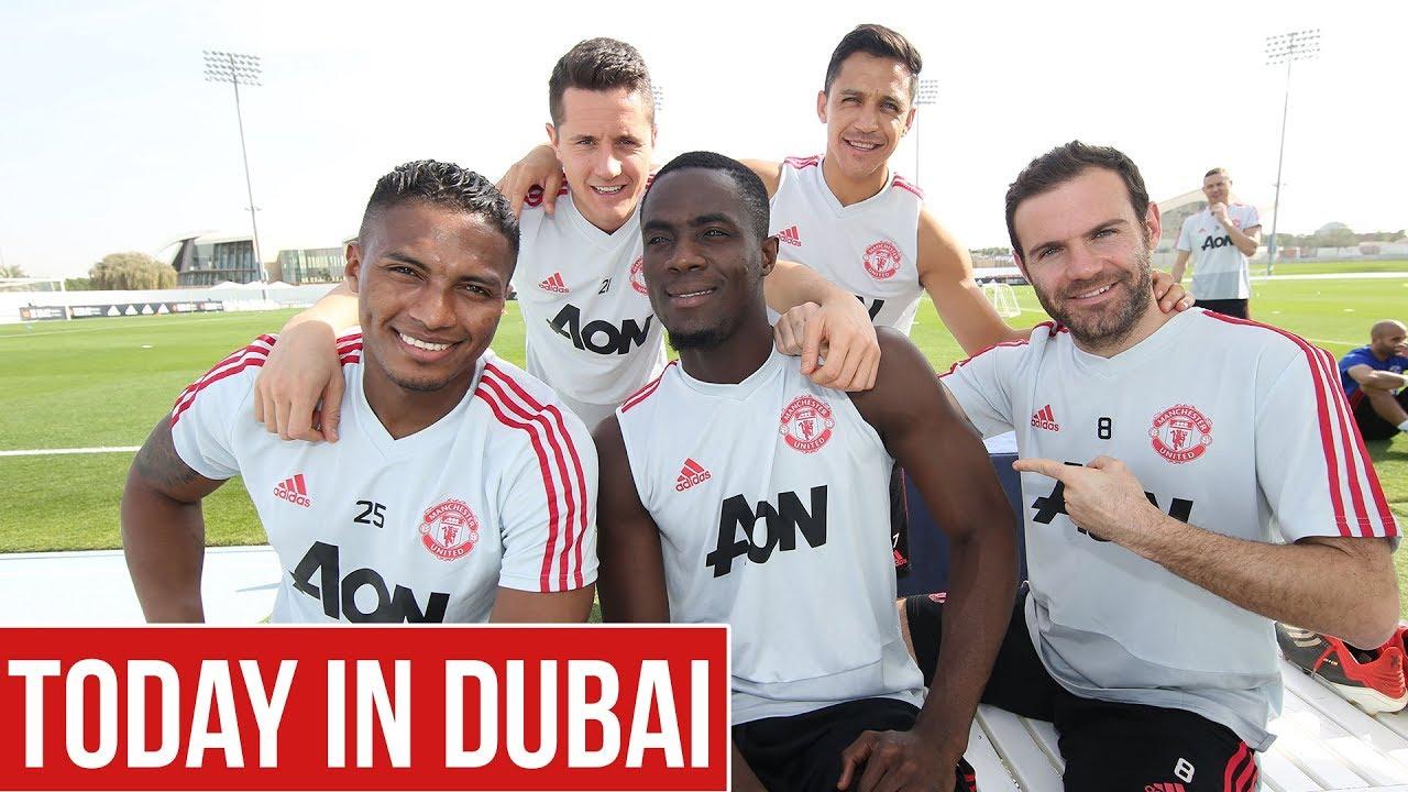 Manchester United | Dubai Training Camp Day Two | Pogba, De Gea, Lukaku