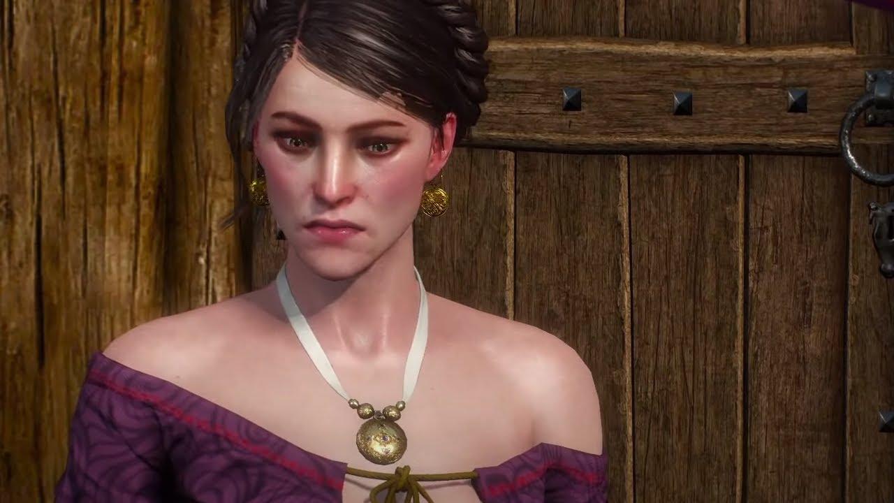 Geralt obgaduje z Jaskrem Polly po pobiciu jej męża - Wszystkie opcje dialogowe | Wiedźmin 3