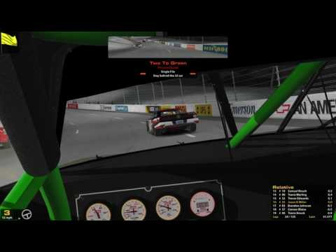 iRacing SARA Button Box Shop Super Series @ Richmond 5-25-17