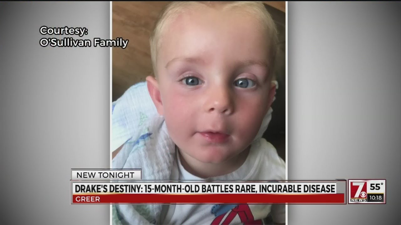 Drake's destiny: 15-month-old from Greer fights rare, incurable disease