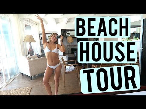 BEACH HOUSE TOUR | Meredith Foster