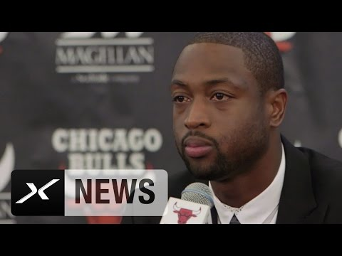 "Dwyane Wade emotional: ""Kann gar nicht sagen, was das bedeutet"" | Chicago Bulls"