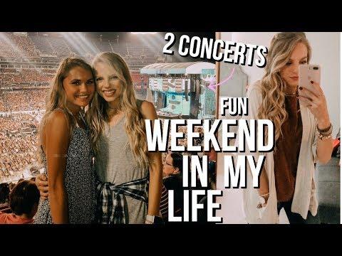 FUN WEEKEND IN MY LIFE VLOG! Ed Sheeran Concert, NEEDTOBREATHE concert, Nashville, + more!