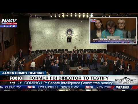 FULL COVERAGE: James Comey Hearing - Testimony To Senate Intelligence Hearing (FNN)