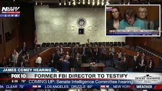 FULL COVERAGE: James Comey Hearing - Testimony To Senate Intelligence Hearing (FNN)