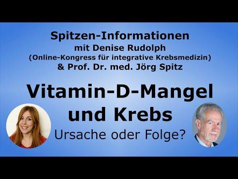 Vitamin-D-Mangel & Krebs - Ursache Oder Folge? - Prof. Dr. Med. Jörg Spitz
