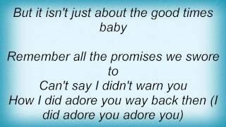 Kylie Minogue - So Now Goodbye Lyrics