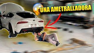 UNA METRALLETA EN EL TOYOTA SUPRA    ALFREDO VALENZUELA