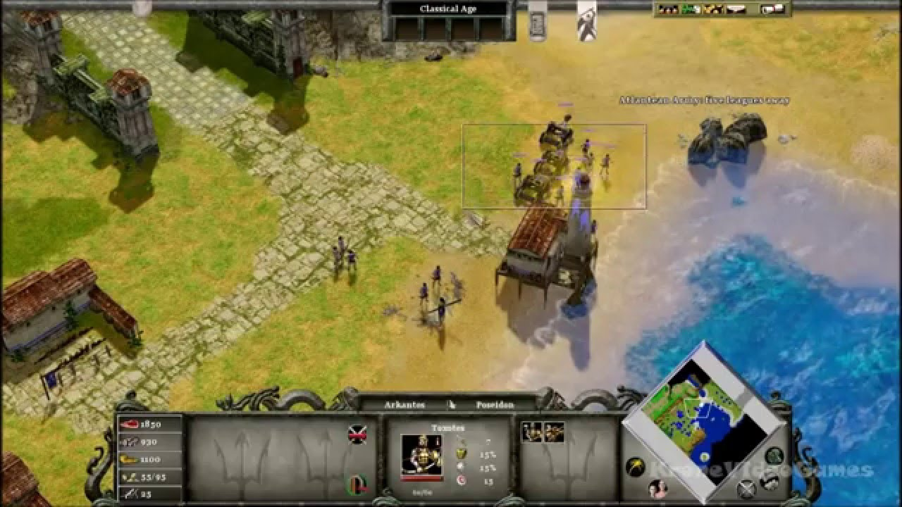 age of mythology tale of the dragon update download