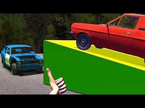 I Jumped Over My Car - My Summer Car