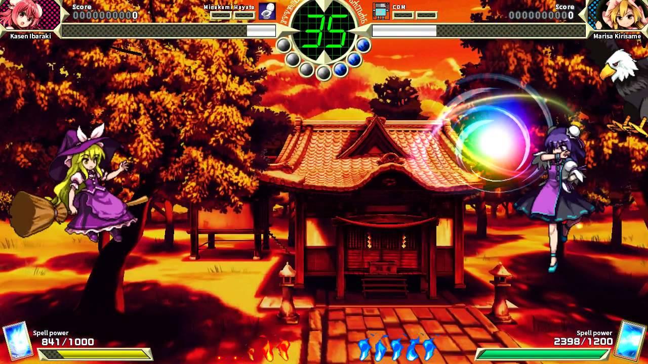 Lançada a demo do 15º jogo da série Touhou Project - Legacy of Lunatic Kingdom