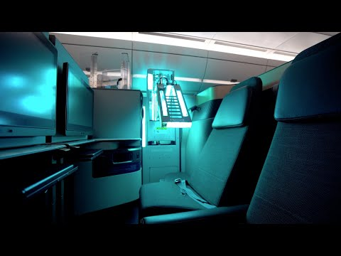 UV cleaning of aircraft cabins | Qatar Airways