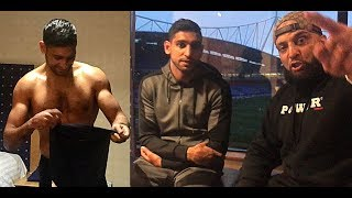 """AMIR KHAN   LO GRECO   """"STOP THE CHAT, YOU'RE GETTIN' KO"""""""