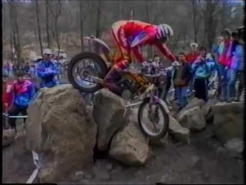 Trailer - 1992 Belgium World Motorcycle Trial  - Bilstain