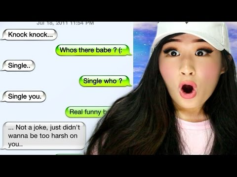 Reacting To The Funniest Break Up Texts!