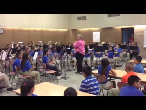 6th Grade Fort Stockton Middle School Band 5/17/2013