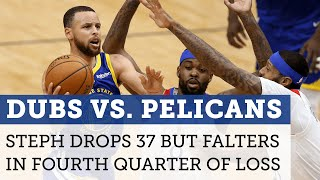 Warriors vs. Pelicans highlights: Steph drops 37 points but struggles late in loss | NBC Sports BA
