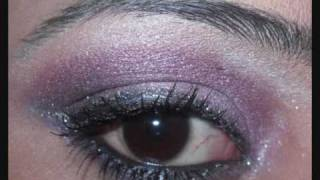 Purple eye shadow look... Thumbnail