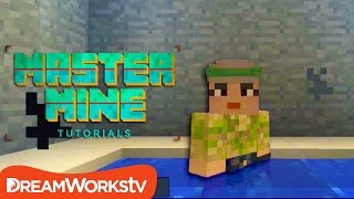 How to Build a Hot Tub in Minecraft with Millie from Game Kids | MASTER MINE TUTORIALS