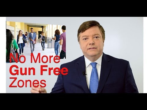 No More Gun Free Zones - Allow Teachers To Arm Themselves & Protect Students