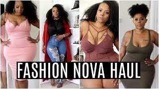 Fashion Nova Try On Haul Summer- Jeans, Dress, Plus- Size, Curvy