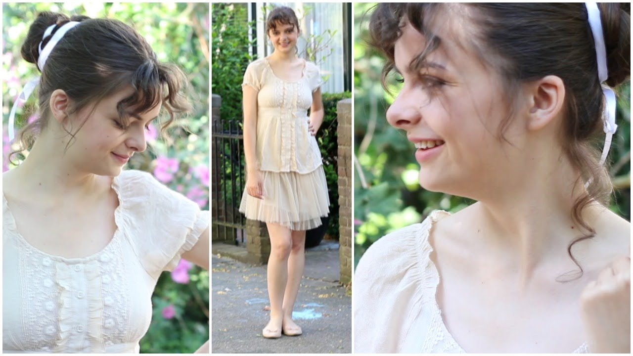 Modern Jane Austen Look Style Revival Regency Youtube