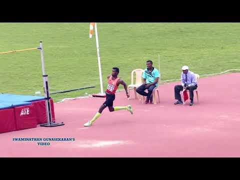 MEN'S  HIGH JUMP  FINAL. 57th National Open Athletics Championships 2017 CHENNAI,