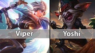 [ Viper ]  Riven vs Kled [ Yoshi ] Top - Viper Riven Stream