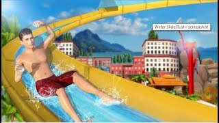 Water Slide Rush / Amazing Water Slide Simulation /  Android Gameplay Video