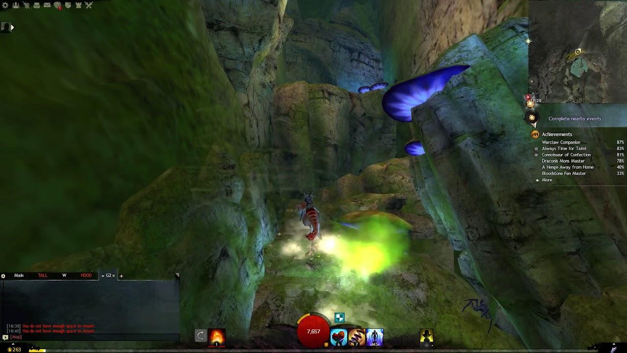 Guild Wars 2 (Mount Maelstrom) - Air Elementals in Dierdre's Steps