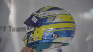 Sauber F1 Team 2017 Preparation - Marcus Ericsson | AutoMotoTV