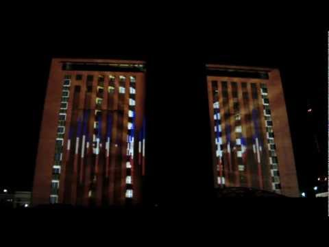 ON Media Group Projection Media Montage 3D Projection Mapping-Holograms-Hydro Projections