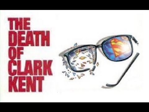 SUPERMAN 75th anniversary pet project:The Death Of Clark Kent
