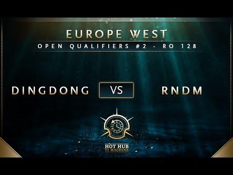 DingDong vs RNDM - The International 7: Open Qualifiers #2 EU: Round of 128 - @Bkop92