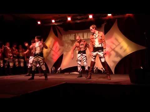 Anime Milwaukee 2014 Skit - Attack on Dance-Off