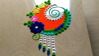 Very innovative small rangoli designs by jyoti Rathod