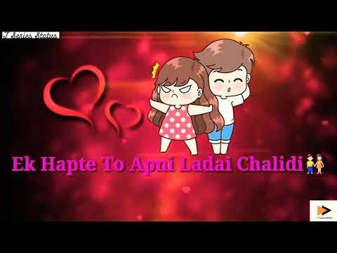 miss-you-inna-sara-song-status-||romantic-t-series-status-||-ek-hafte-to-apni-ladai-chalidi-status