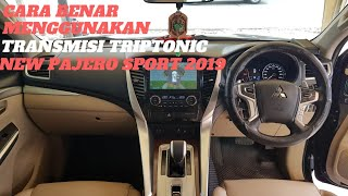 Cara menggunakan tranmisi all new pajero sport 4x2 dakar ultimate 2019