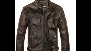 Best Leather Jacket for bikers From Aliexpress